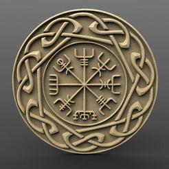 Impresiones 3D Viking and norse symbols, Majs84