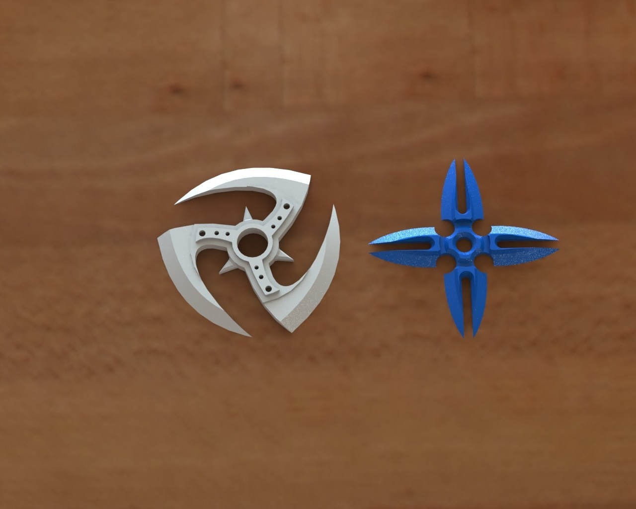 Ninja star 2.JPG Download STL file Ninja stars 2 • 3D printing design, Majs84