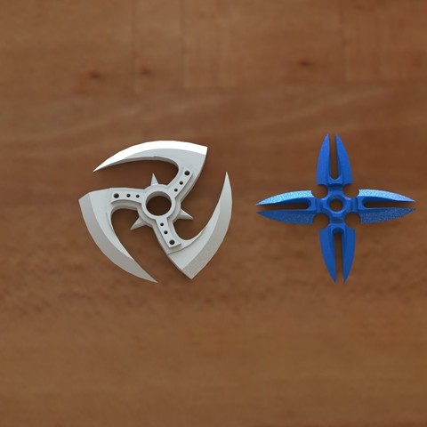 Impresiones 3D Ninja stars 2, Majs84