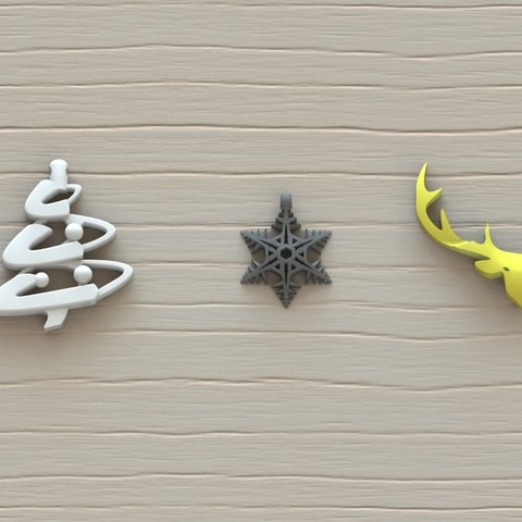 Christmas pendant.JPG Download STL file Christmas pendant • 3D print model, Majs84