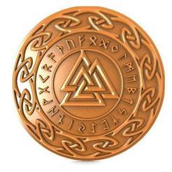 Valkunt Odin Symbol cnc .1.jpg Download STL file Valkunt Odin Symbol cnc • Design to 3D print, Majs84