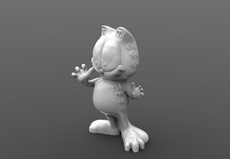 Garfield --.jpg Download STL file Garfield • 3D printable object, Majs84