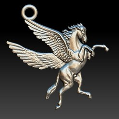 Download STL file Pegasus • 3D printable design, Majs84