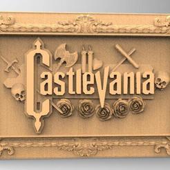 Descargar archivos 3D Relieve de Castlevania 3D, Majs84