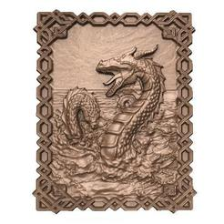 Sea dragon cnc .1.jpg Download STL file Sea dragon CNC • 3D printing template, Majs84
