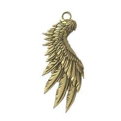 Wing pendant .1.jpg Download STL file Wing pendant • 3D printable model, Majs84