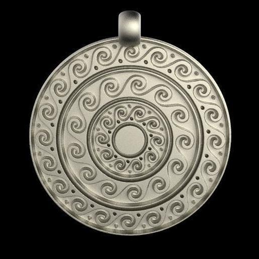 Download free 3D printing files Ancient greek pendant, Majs84