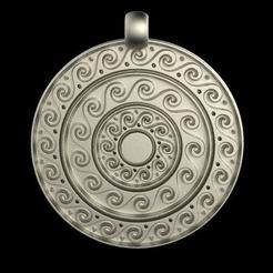 Download free 3D printing files Ancient greek pendant, Majs84