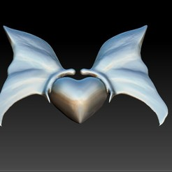 3D printing model Heart with butterfly pendant, Majs84