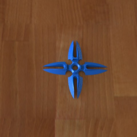 Ninja star 2-1.JPG Download STL file Ninja stars 2 • 3D printing design, Majs84