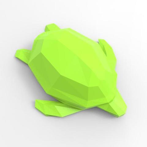 Archivos 3D Low-poly turtle, Majs84