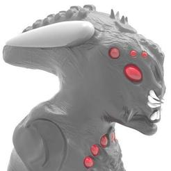 Download free 3D printer model Creature 3 bust, Majs84