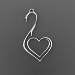 Download 3D printing files Swan earrings, Majs84