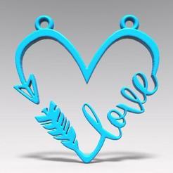 Love 2.1.jpg Download STL file Valentine's Day • 3D printer design, Majs84