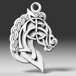 Descargar archivos 3D Celtic horse, Majs84