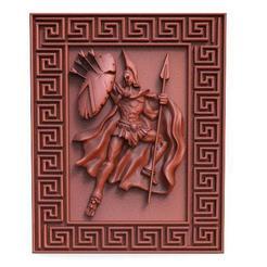 Spartan CNC 0..jpg Télécharger fichier STL Soldat spartiate CNC • Plan pour impression 3D, Majs84