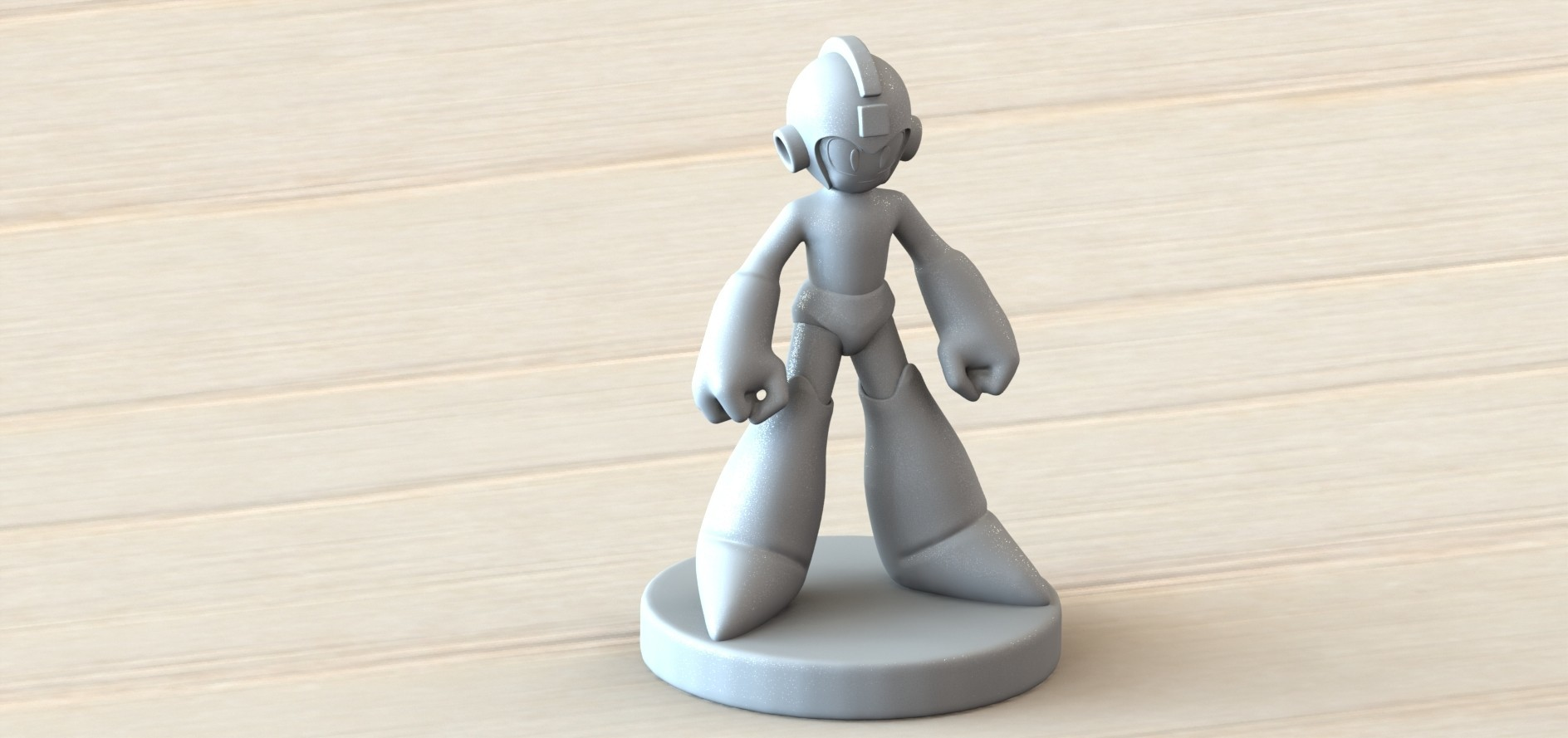 megaman 1.3.JPG Download free STL file Megaman • Template to 3D print, Majs84