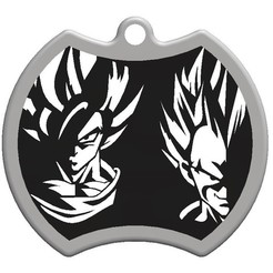 3d model Goku Dragon ball Keychain, Majs84