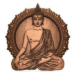 Buddha CNC .0.jpg Télécharger fichier STL Bouddha du CNC • Design pour impression 3D, Majs84