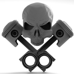 Skull pistons 1.1.jpg Download STL file Skull pistons 1 • 3D print model, Majs84