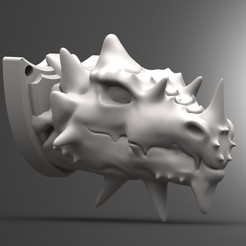 Impresiones 3D Dragon head, Majs84