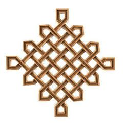 Celtic ornament 1.1.jpg Download STL file Celtic knot ornament CNC • 3D printer object, Majs84