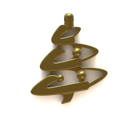 Christmas pendant 2.JPG Download STL file Christmas pendant • 3D print model, Majs84