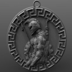 Spartan pendant 10.1.jpg Download STL file Spartan pendant 10 • 3D printer object, Majs84