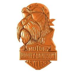 Download 3D printing templates Harley davidson dog 1, Majs84