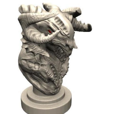 3D printing model Demon Bust 2, Majs84