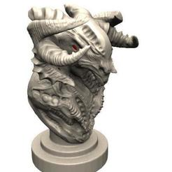 3D printing model Demon Bust 2, Majs84