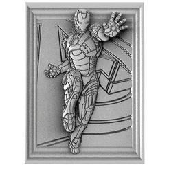 Iron man 1.1.jpg Download STL file Iron man Bas-relief cnc • 3D printing model, Majs84