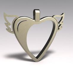 Download 3D printer files Heart pendant, Majs84