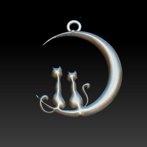 Download STL file Cats • 3D print object, Majs84