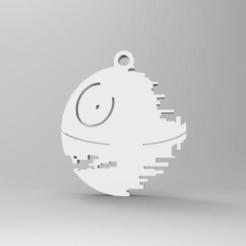 3D printing model starwars keychain, Majs84