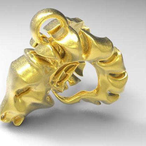 Descargar diseños 3D Goat head , Majs84
