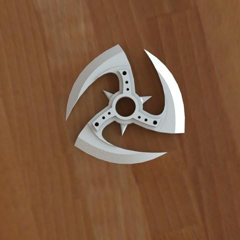 Ninja star 2-2.JPG Download STL file Ninja stars 2 • 3D printing design, Majs84