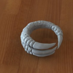 Download STL Claw ring, Majs84