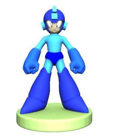 megaman 1.1.JPG Download free STL file Megaman • Template to 3D print, Majs84