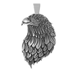 Eagle head pendant 2.1.jpg Download STL file Heagle head pendant 2 • 3D printer object, Majs84