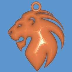 Download free 3D printing templates Lion, Majs84
