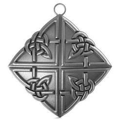 Celtic knots pendant 1.1.jpg Download STL file Celtic knots pendant • 3D print design, Majs84