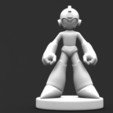 megaman 1.2.JPG Download free STL file Megaman • Template to 3D print, Majs84