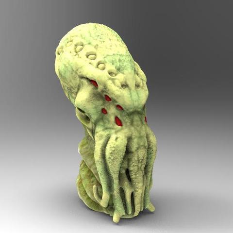 Imprimir en 3D Cthulhu 5, Majs84