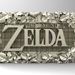 Descargar modelos 3D para imprimir Zelda relief, keychain version available, Majs84