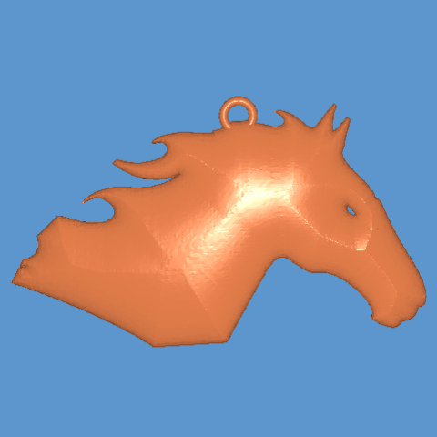 Download free STL file Horse • 3D printable template, Majs84