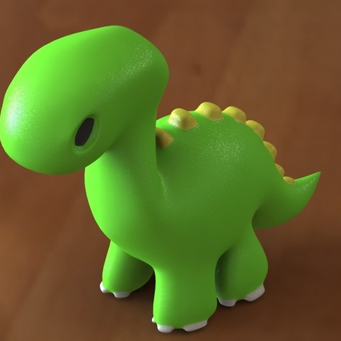 Dino toy 2.JPG Download STL file Dino toy • Template to 3D print, Majs84