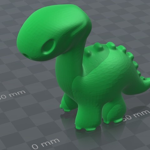 Dino toy 1.3.jpg Download STL file Dino toy • Template to 3D print, Majs84