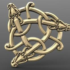 Viking dragon 3.1.jpg Download STL file Viking dragon 3 • 3D printer design, Majs84