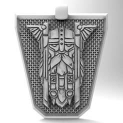 Imprimir en 3D Viking pendant 8, Majs84